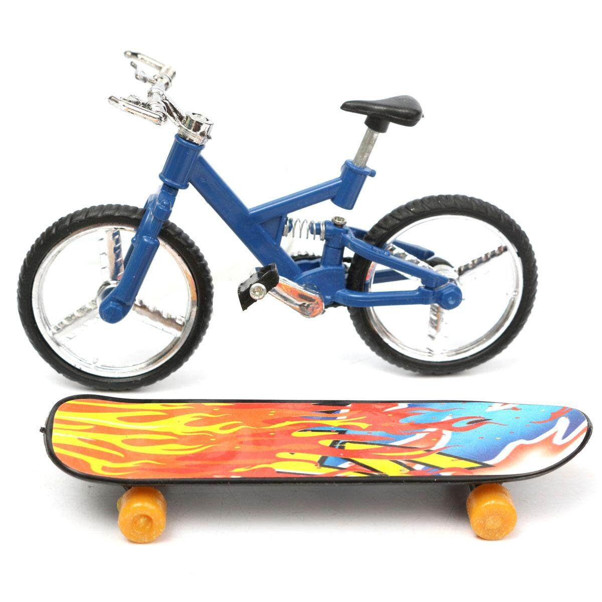 Tech Deck Finger Bike Bicycle+ Finger Board Boy Kid Children Wheel Bmx Toy Gift By Teamwin.