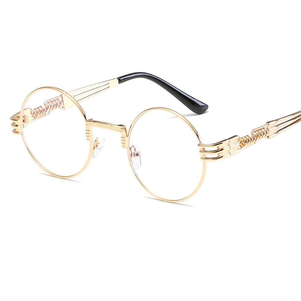 Qimiao Gaya Kacamata Hitam Terpolarisasi Musim Semi Kaki UV400 Bersih Visi Putaran Bingkai Kacamata Lensa Warna