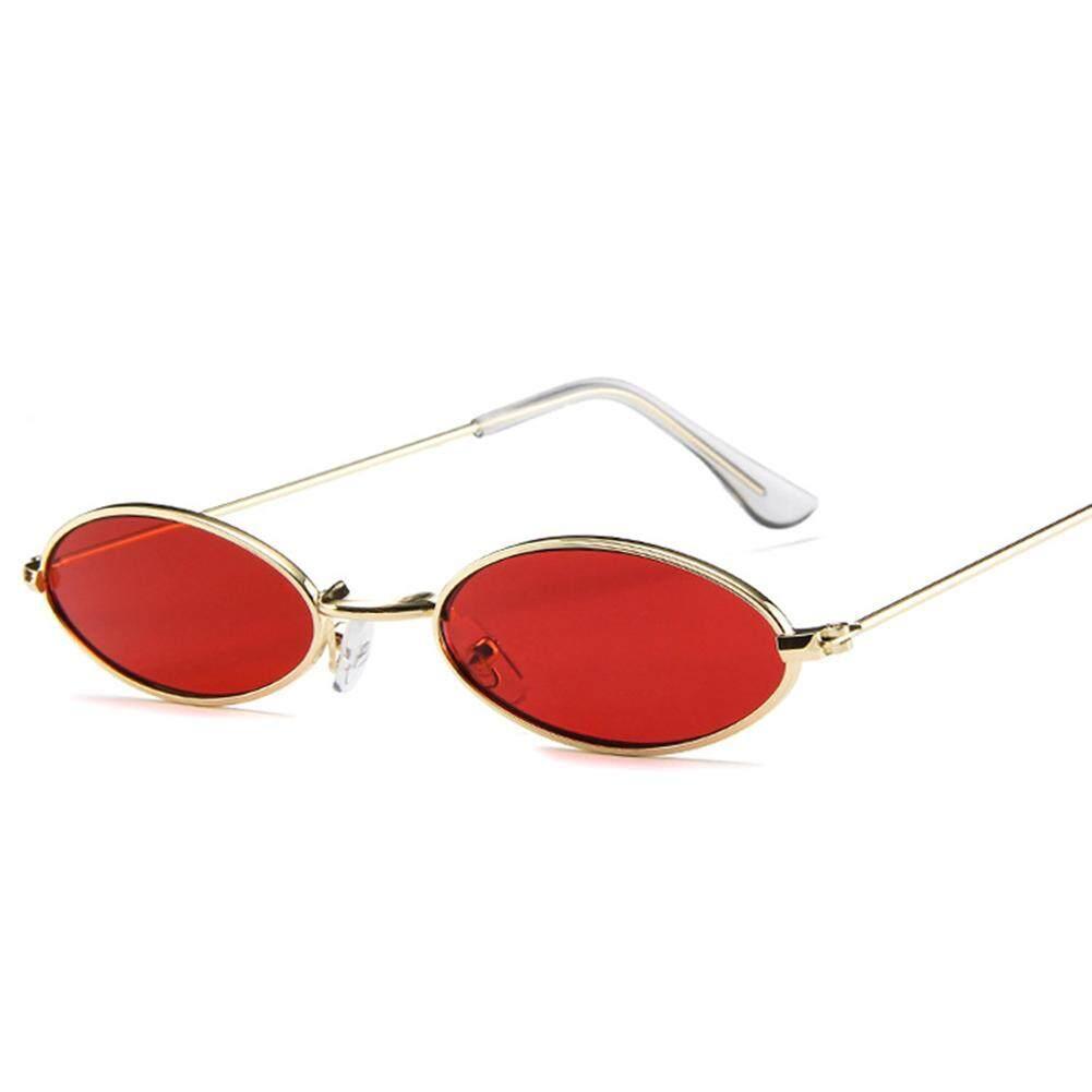 1d6e1b1feb RD Stylish Ultra - Small Ellipse Frame Sunglasses Driving Glasses for  Street Snap Birthday Gift