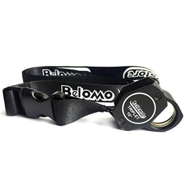 Belomo 10x Triplet Kaca Pembesar dengan Terpasang Deluxe Belomo Lanyard Logo, kaca Optik dengan Anti Refleksi Coating untuk Yang Cerah dan Jelas dan Warna Yang Benar View-Intl