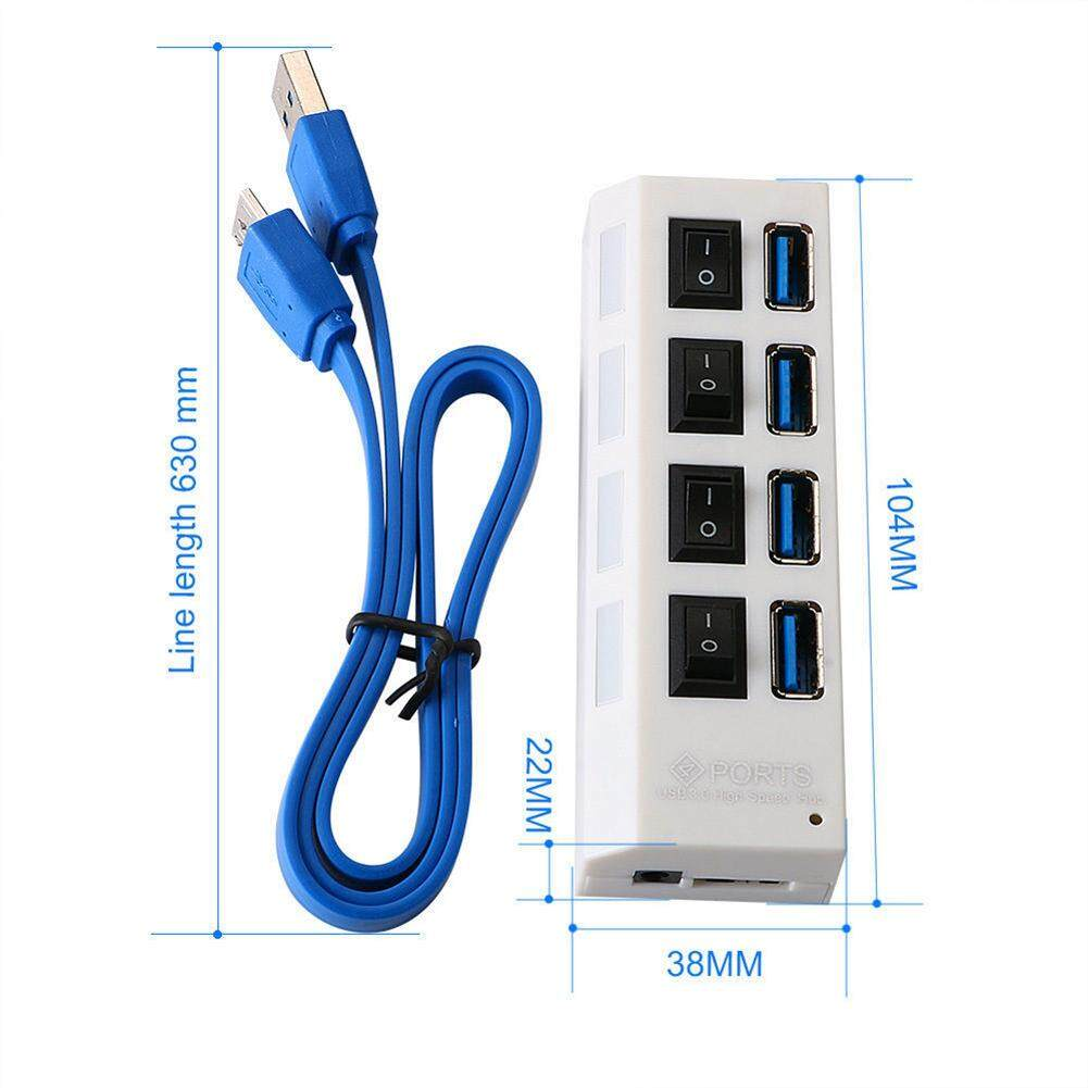 Usb Hub 7 Port Onoff Led Switch Hitam Daftar Update Harga Terbaru Mdisk With On Off And F195 4 30 High Speed Adapter Individual