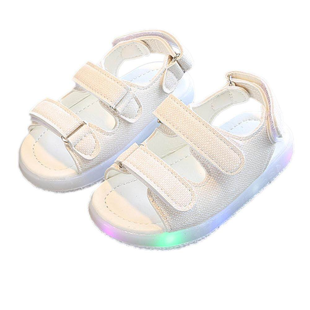 Starmall Baby Boys Sandals Led Luminous Lighting Sneakers For 1-6y Kids Children By Super Star Mall.