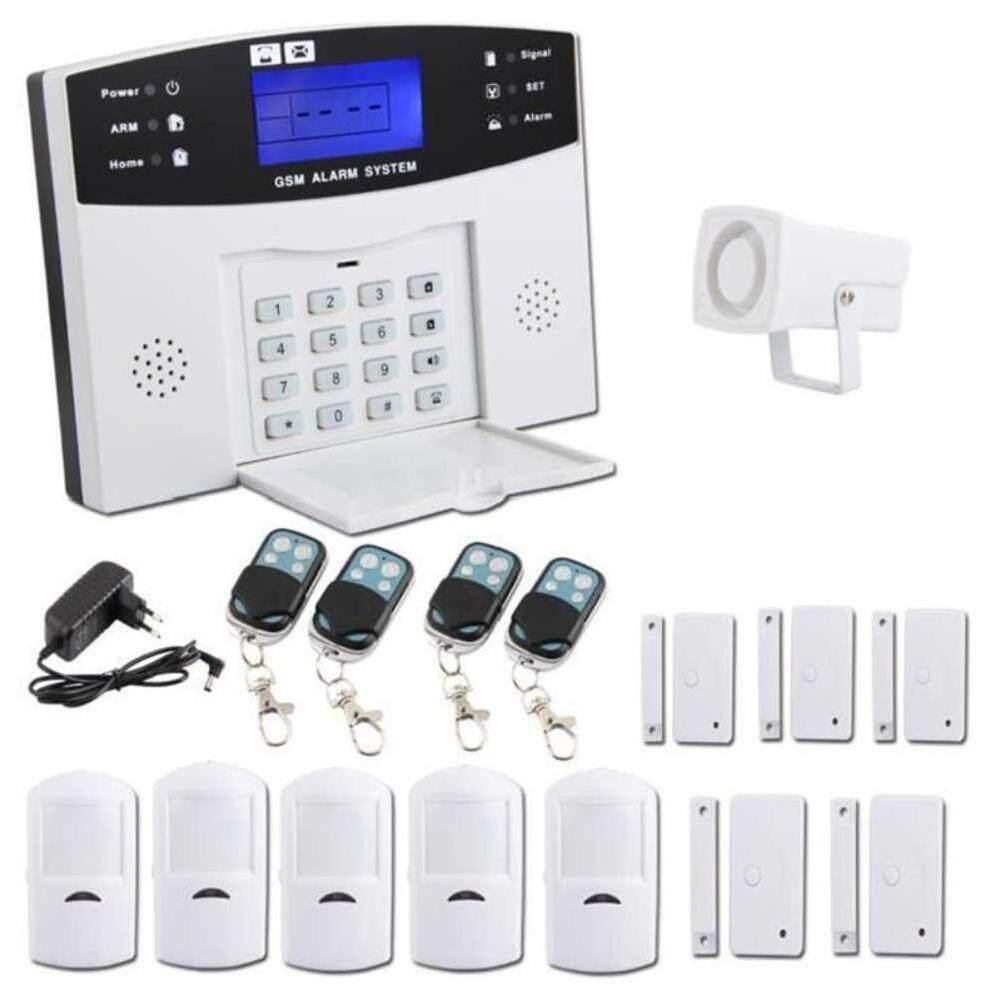 Suke PIR Motion Home Security Wireless Alarm Burglar System Remote Control Alarm - intl