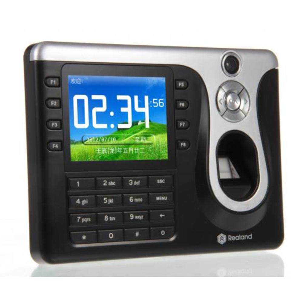 Realand A-C101 3.2 Biometric Fingerprint Attendance Time Clock Employee Payroll Recorder