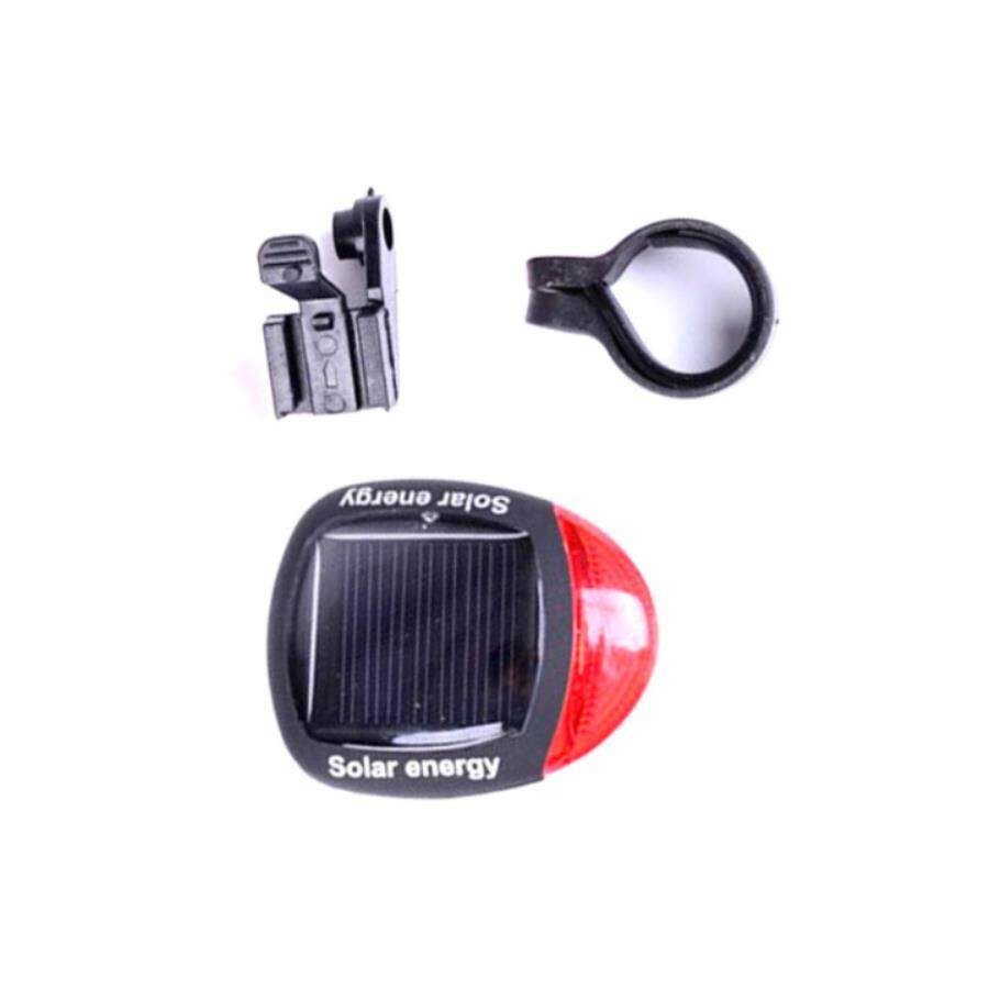 Buy Sell Cheapest Solar Bicycle Taillight Best Quality Product Bicyle Warning Light Lampu Rambu Sepeda Tail Lamp Night Riding Flash Mountain Bike Accessories Equipment