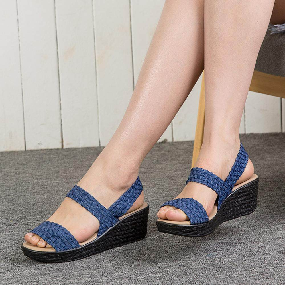 46dd4525281 Wedge Sandals for sale - High Sandals for Women online brands ...
