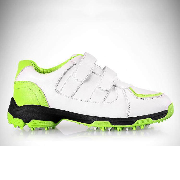 Size 30-37 Kids Golf Shoe Boys Girls Sport Shoes Waterproof Training Shoes Breathable Anti-Slip Sneakers By Kun Yue.