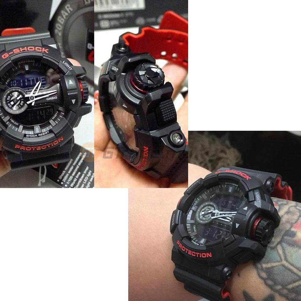 Features Casio G Shock Ga 400hr 1a Analog Digital Watch Bi Color 110hr 1adr