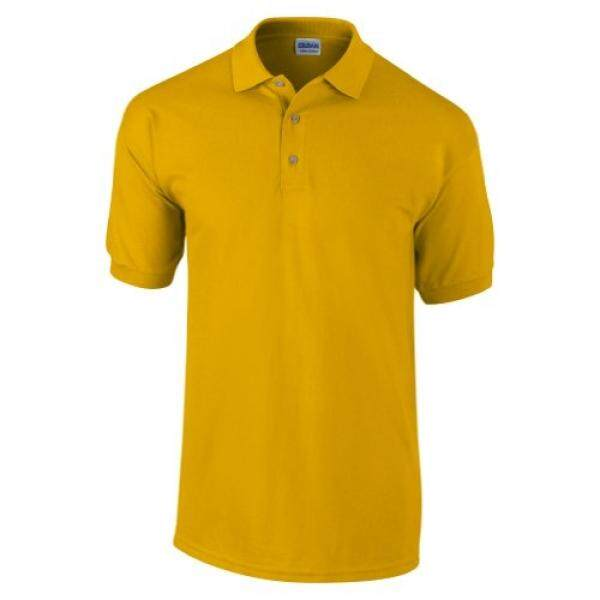 Gildan Mens Ultra Cotton Pique Polo Shirt (XL) (Gold) - intl