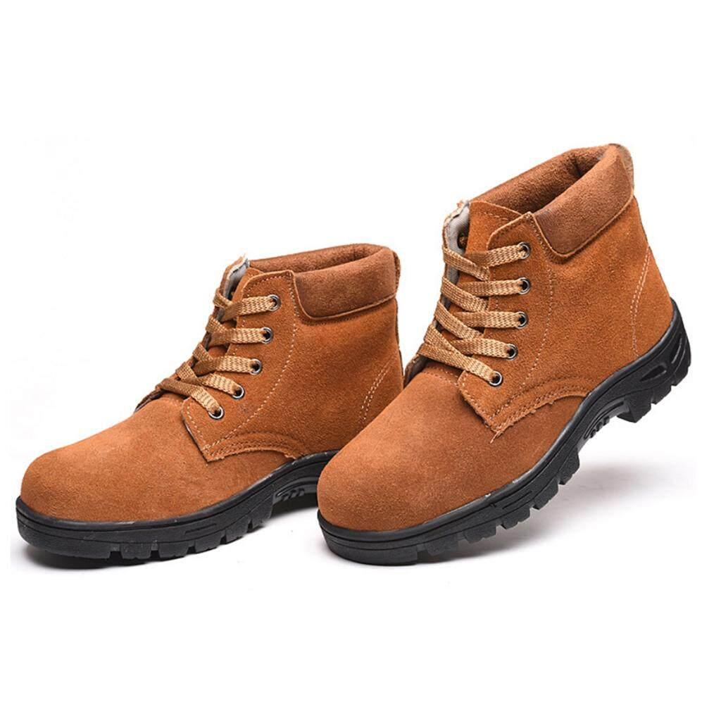 Safety Shoes For Sale Work Prices Brands Review In Eagle Stallion Sepatu Jogging Grey Beige 38 Miracle Shining Boots Steel Toe Midsole Anti Slip Us9