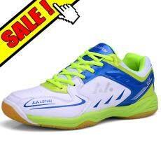 Yealon Sepatu Sepatu Bulu Tangkis untuk Sepatu Bulu Tangkis Pria Wanita  Training Kasut Wanita Bernapas Keras Anti-Lampu Licin Wo Sepatu Bulu  Tangkis Pria ... f67630b665