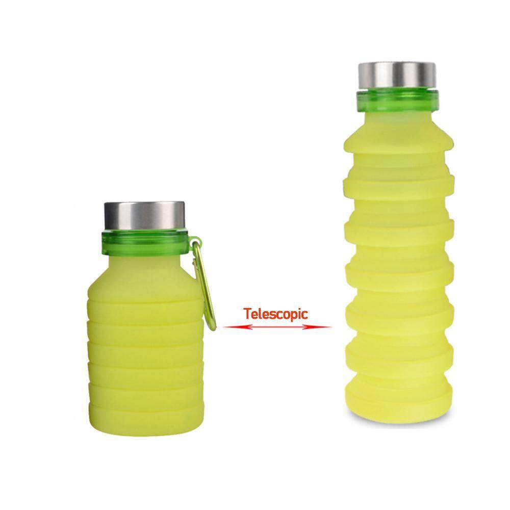 Sports Water Cup Hydration 600ml Riding Portable Collapsible Silicone Kettle High-end Fashion Sports Bottle