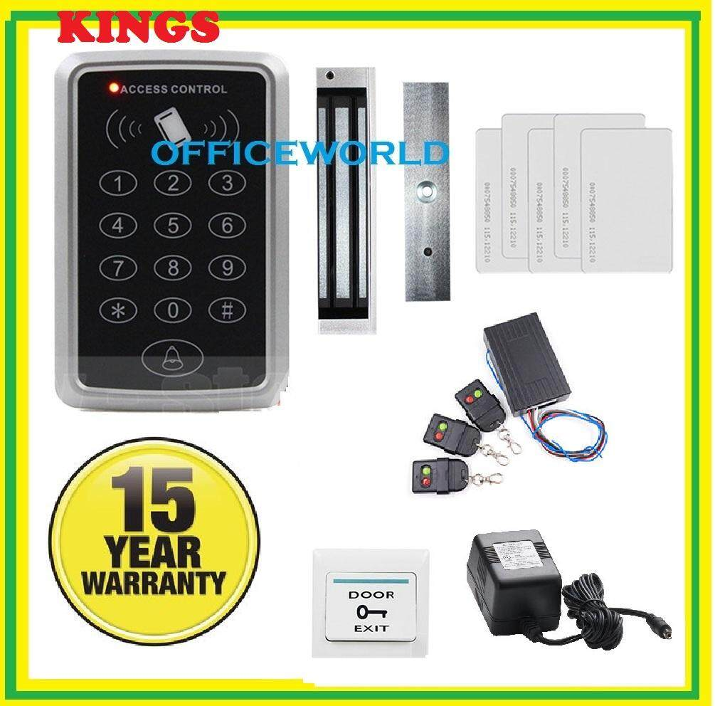 DUAL LOCK RFID Door Access Control System With Electric 280Kg Magnetic Lock
