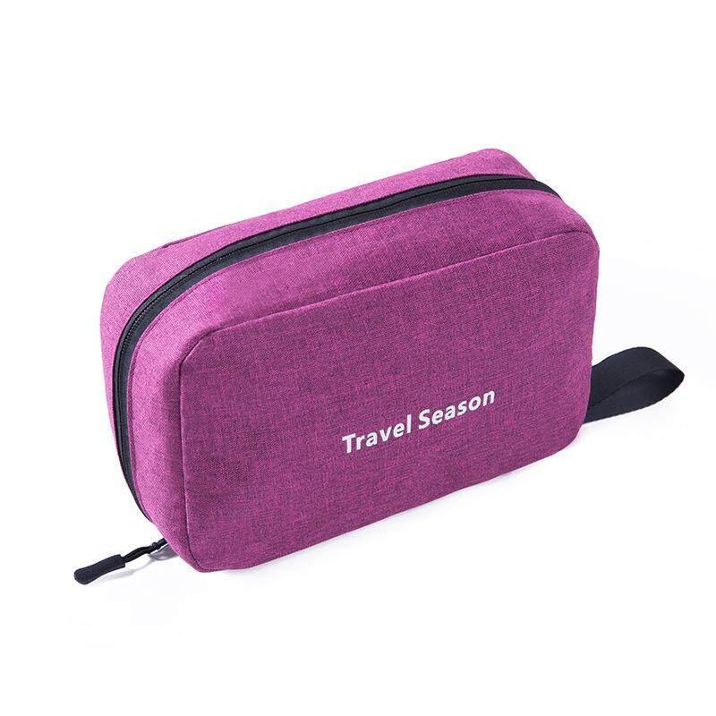 Müziği Full Perjalanan Multi Fungsi Tas Peralatan Mandi Gantung Tas Perlengkapan Mandi Make Up Bag-