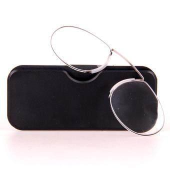 Review of Fshion Wanita dan Pria Fleksibel Hidung Klip Kacamata Baca Derajat 250-Intl anggaran