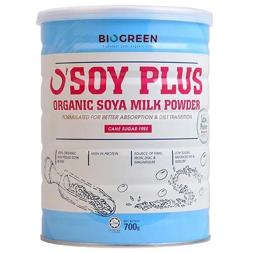 Biogreen Organic Soya Milk Pwd ( Sugar Free ) 700G