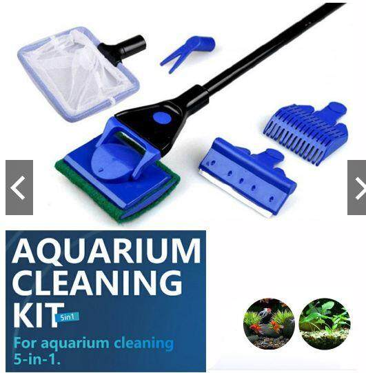 5 IN 1 AQUARIUM GLASS CLEANER KITS