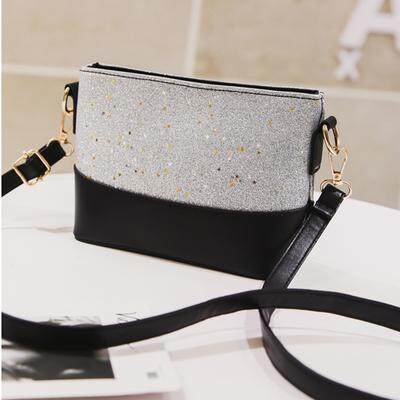 VF Bling Blink Glitter Clutch Shoulder Bag - 5 .