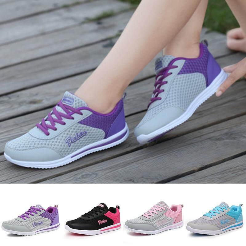 Giày Thể Thao Nữ Giày Luyện Tập Giày Đi Bộ Thoáng Khí Phối Màu Trẻ Trung Giá Hot Siêu Giảm tại Lazada