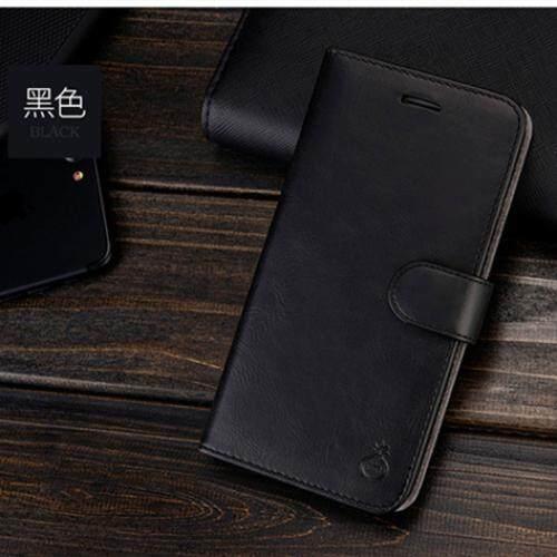 Musubo Lipat Kulit Case untuk IPHONE 7/8 Umum Sarung Sesuai Magnetik Mobil Penahan-Internasional