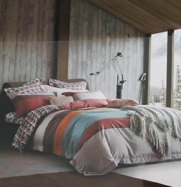 Aussino Loft Cyprus Quilt Cover Set