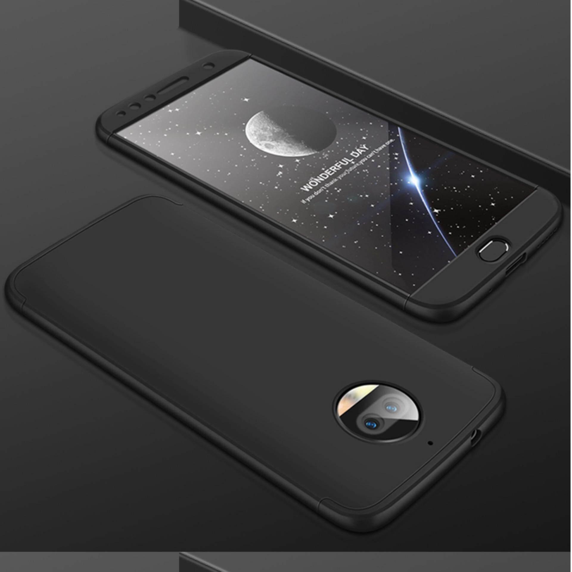 For Motorola Moto G5s Plus Hybrid 3 in 1 Case 360 Degree Full PC Plastic Shockproof