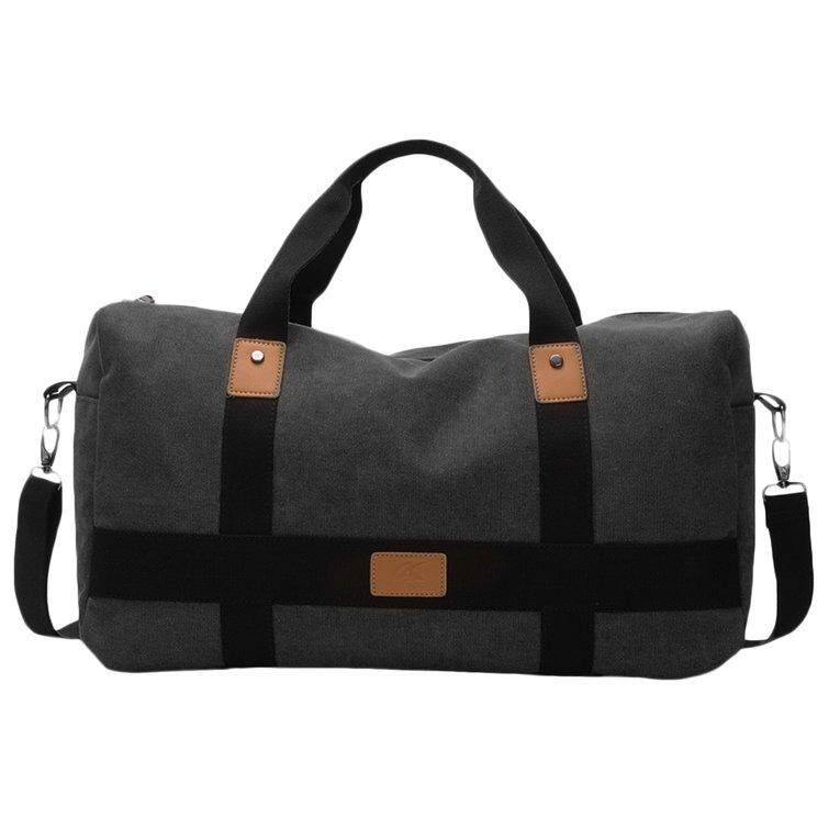 ELEC Casual Men Messenger Bag Large Capacity Canvas Travel Tote Cross-body  Handbag - intl c5b6a7e452