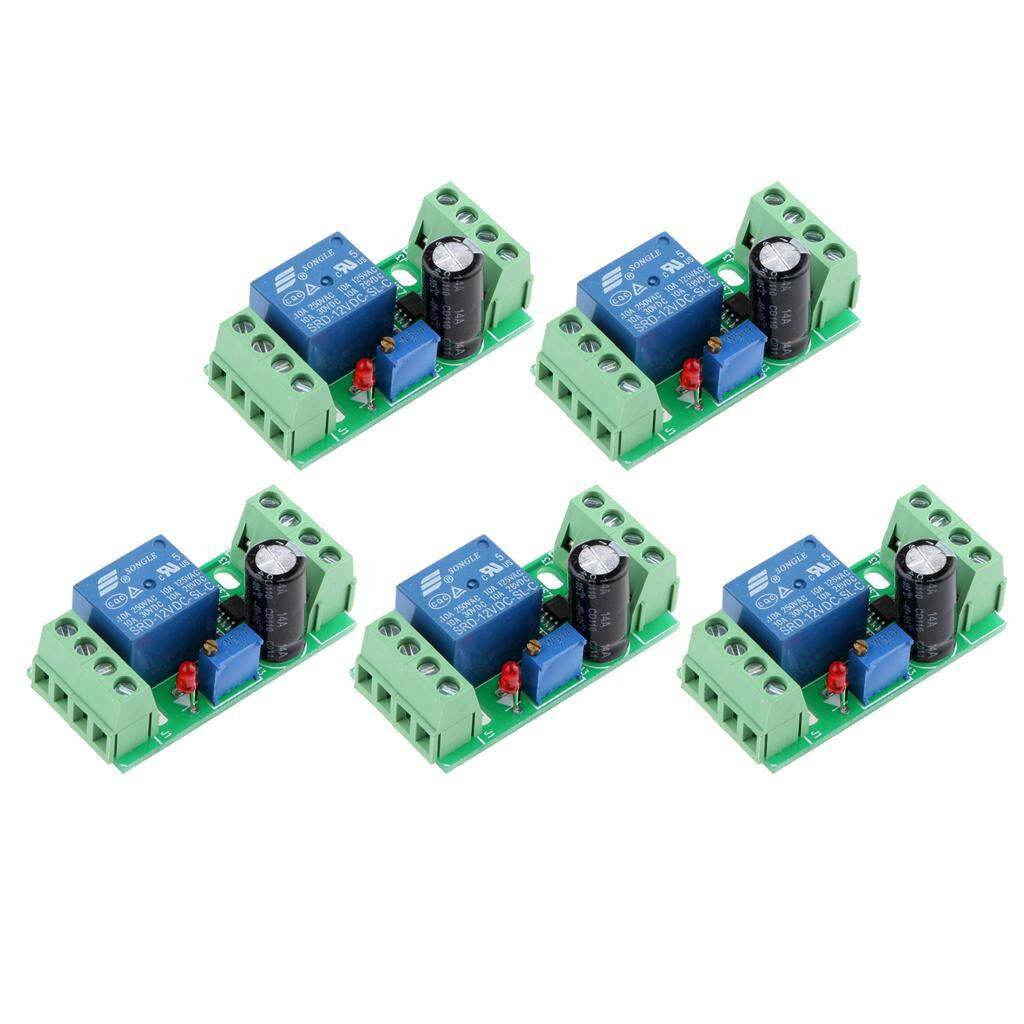 Buy Sell Cheapest Miracle Shining Ne555 Best Quality Product Deals Diy Monostable Switch Time Delay Circuit Module Red 12v 5 Pieces Dc Relay Shield Timer Adjustable