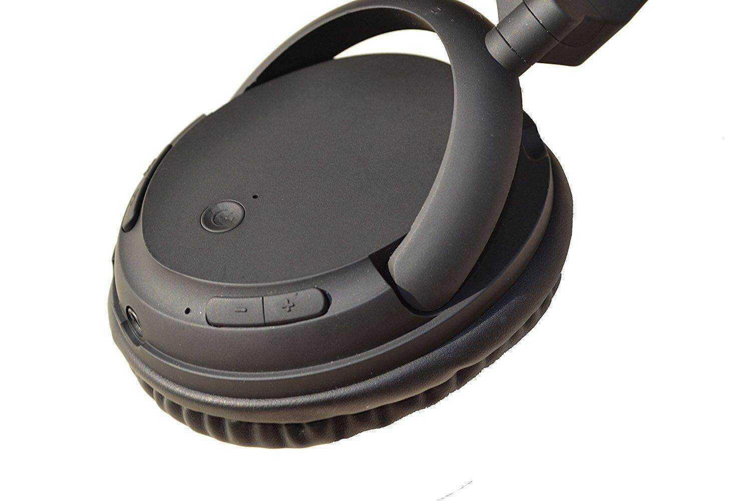 ... Bluetooth Headphones V4.0 Comfortable Wireless Headset with Built-in Mic & Wired Connect ...