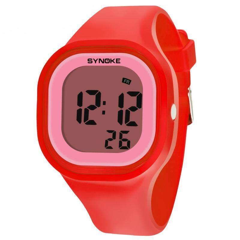 YBC Children Waterproof Digital Luminous Watch Student Sports Digital WristWatch bán chạy