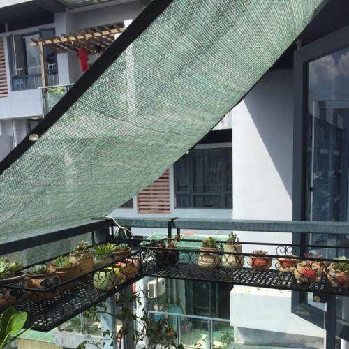 Sun Shade Sail 70% UV Block Outdoor Garden Plant Cover Awning Canopy Mesh Net Shade 0.9x1m - intl