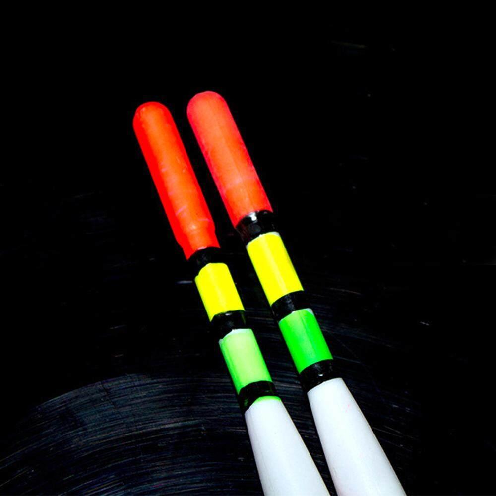 10 Buah/Set LED Memancing Malam Pengapung Memancing Asli Cepat & Mudah Digunakan LED Pelampung