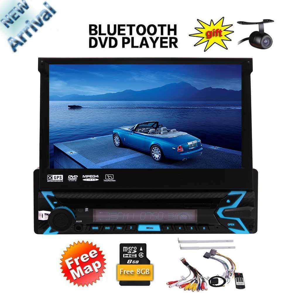 Latest 7 inch Single 1 Din Touch Screen Head Unit Wince System In Dash Radio Receiver
