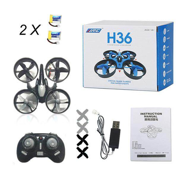 Baru Brica H36 Drone Mini RC Drone Quadcopter Headless Modus Multicopter Helikopter RC Vs Brica H8 Mini H20 Drone Terbaik untuk Anak-anak