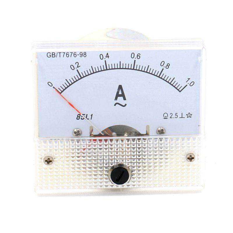 Analog 85L1 AC 1A Panel Meter Amperemeter Meter Installation meters