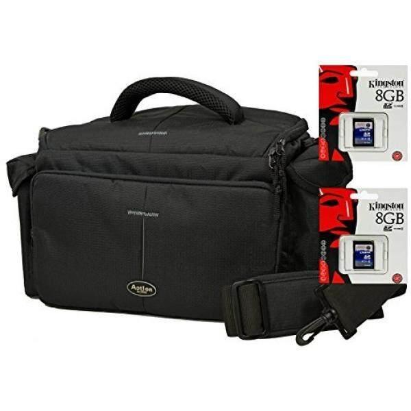 Foto Kamera Tasche Tindakan S Im Set MIT Doppelpack 8 GB SD Karte F? R Canon EOS 1300D 1200D 760D 750D 700D 80D Nikon D7200 D610 D500 D5500 D5300 D3300 D3200-Intl