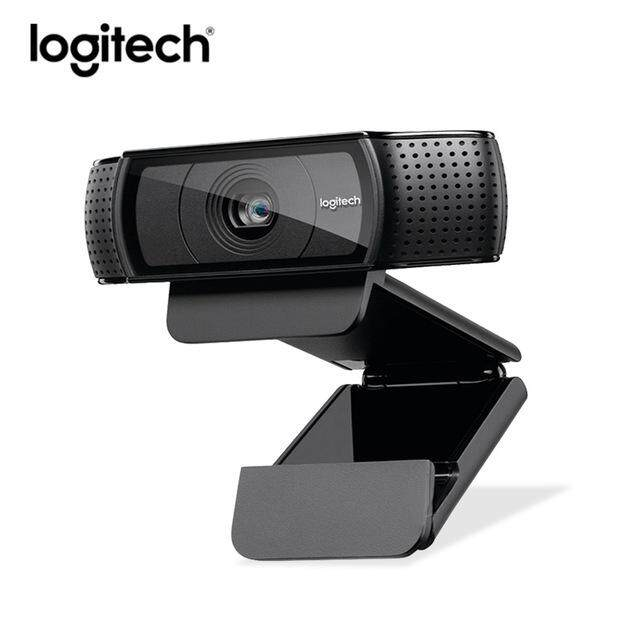 Logitech C920e hd Webcam Video Chat Recording Usb Camera HD Smart 1080p Web Camera ( C920 upgrade version )