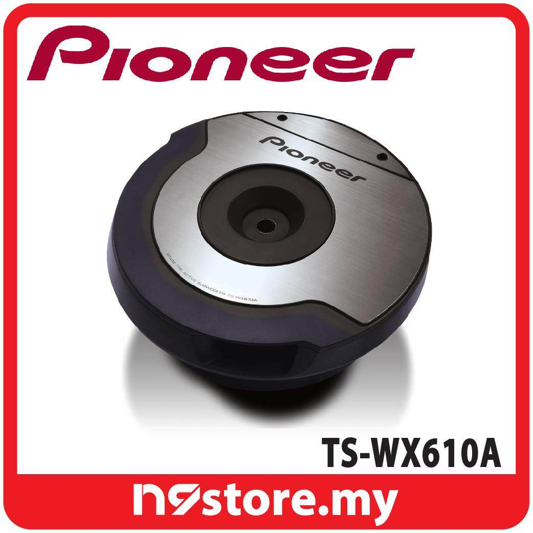 "Pioneer TS-WX610A Space-saving 10"" Amplified Subwoofer"