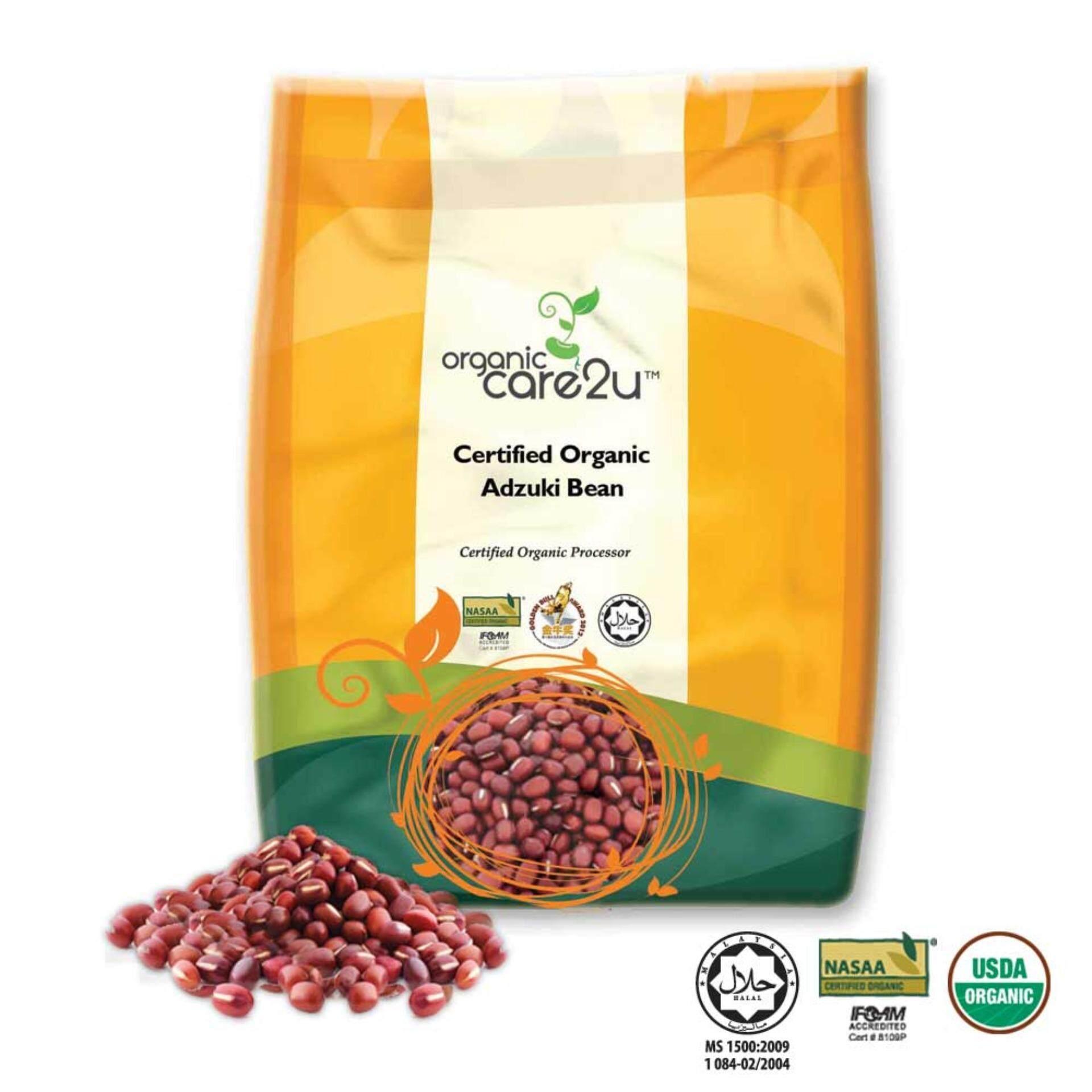 Organic Care2u Organic Adzuki Bean (400g)