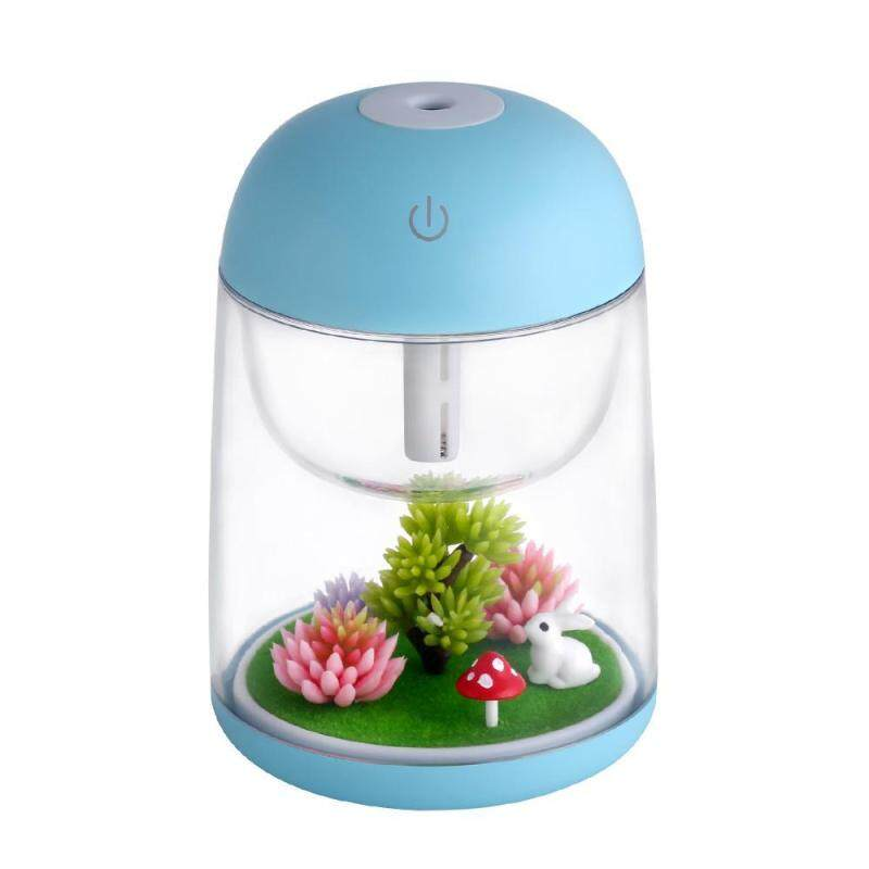 stazub Cool Mist Humidifier With Adjustable Mist Mode 7 Colors Led Light Humidifier Air Dry Humidifier For Office Home Bedroom Living Room Yoga - intl Singapore