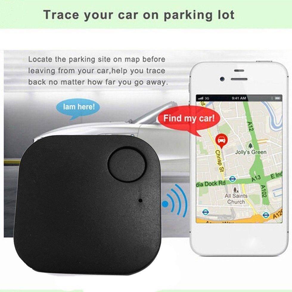Goft Auto Square Bluetooth Pencari Smart Tag Anti Kehilangan GPS Patch Alarm Perangkat