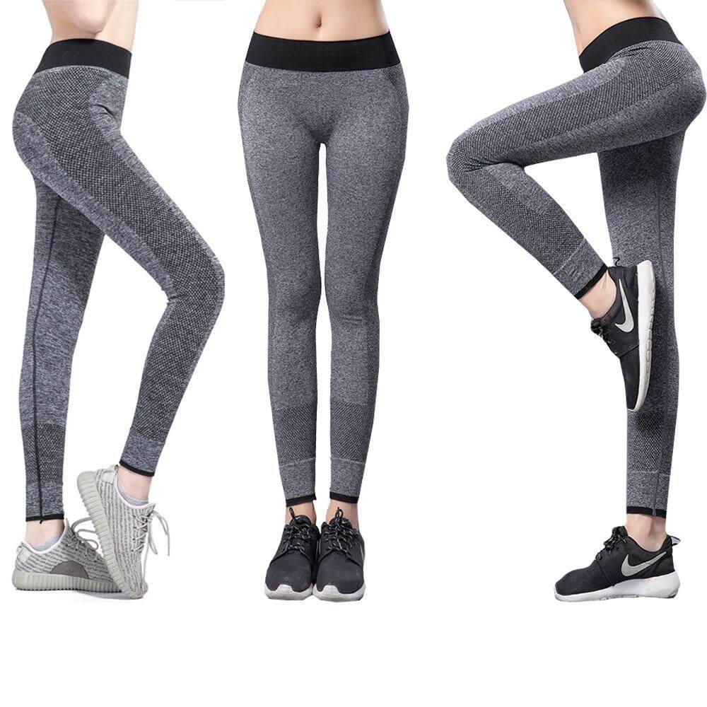 f6e7131c9af BAC High Quality Women Yoga Sports Pant Tights Female Sports Elastic  Fitness Running Trousers Slim Leggings