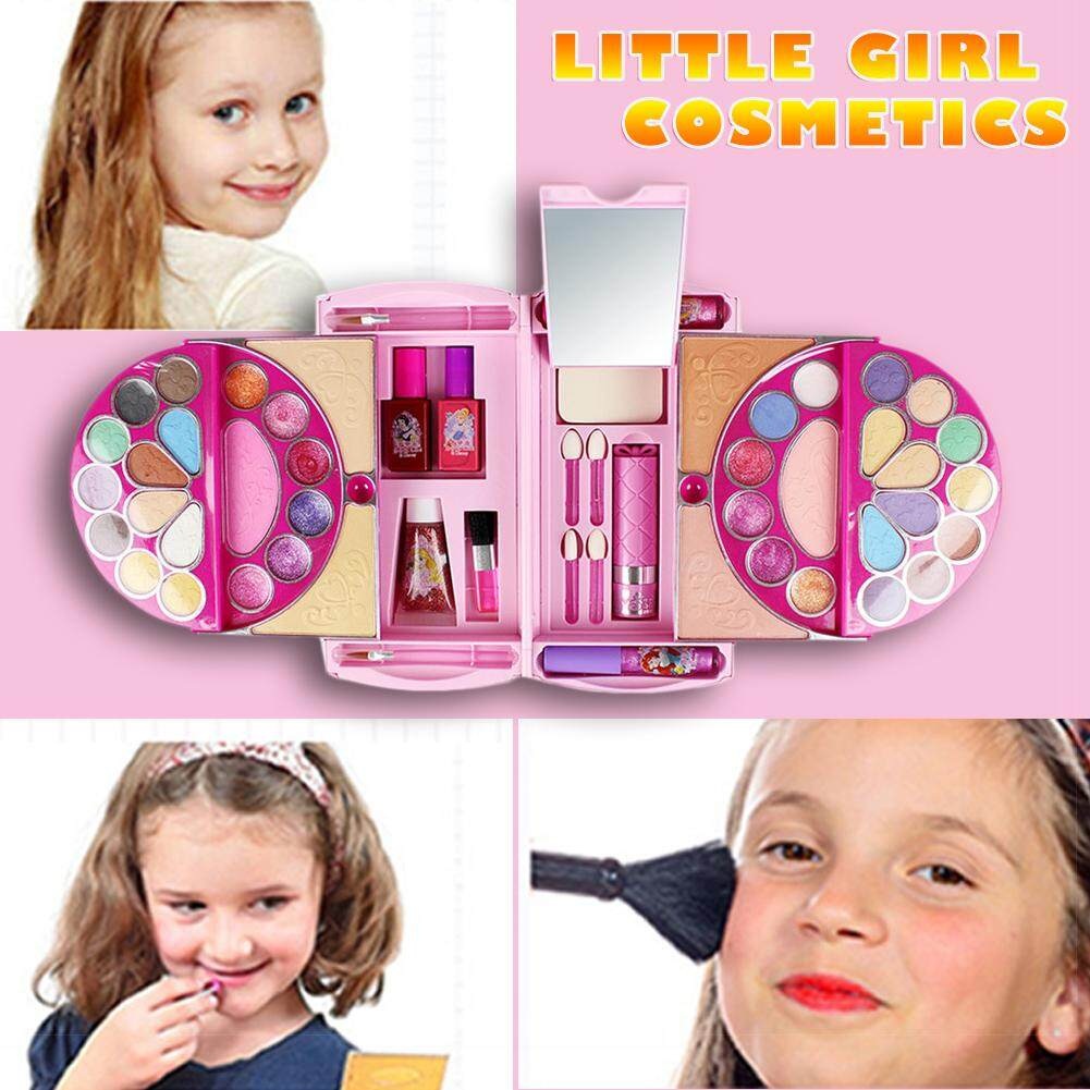 RYT 53Pcs Cosmetic Kit for Disney Pandora Magic Mirror Series Makeup Toy  Ornaments Safe and No Toxic for Girl Practicing Make up
