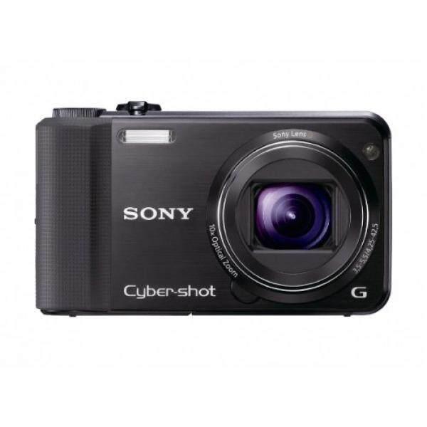 Sony Cyber-shot DSC-HX7V 16.2 MP Exmor R CMOS Kamera Diam Digital dengan 10x Angle Optical Zoom lensa G, 3D Sweep Panorama dan Penuh 1080/60i Video HD (Hitam)