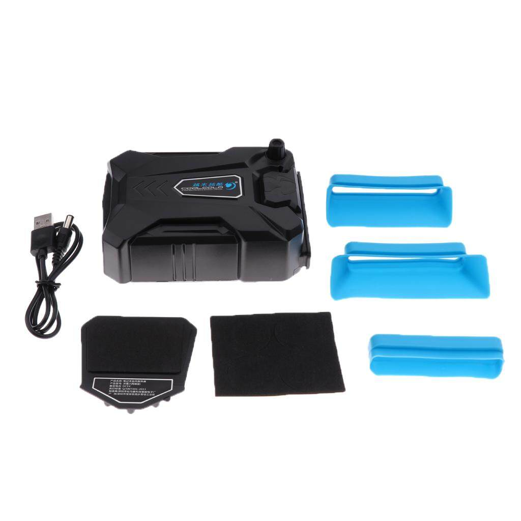 MagiDeal Laptop Cooler Fan Cooling External Gaming Cooler Ventilation Air Vaccum