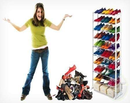 Amazing Shoe Rack For 30 Pairs Shoes !