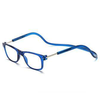 300 Degree Men Women Magnet Hanging Neck Reading Glasses Colorful Adjustable Magnetic Front Presbyopic Glasses