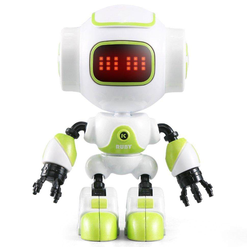 Ge JJRC R9 RC Robot Touch Sensing LED Eyes Smart Voice DIY Gesture Robot Toy