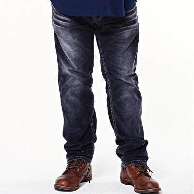 Jazz & Co Men Mid Rise Corduroy Jeans ( Black)