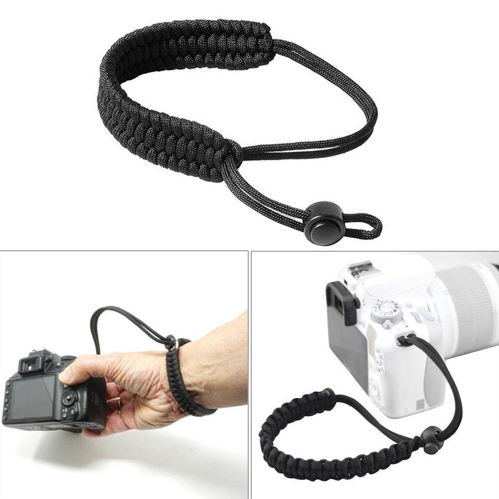 Braided Paracord Wrist Strap Lanyard for Canon Nikon Sony DSLR SLR Camera(Neutral)-